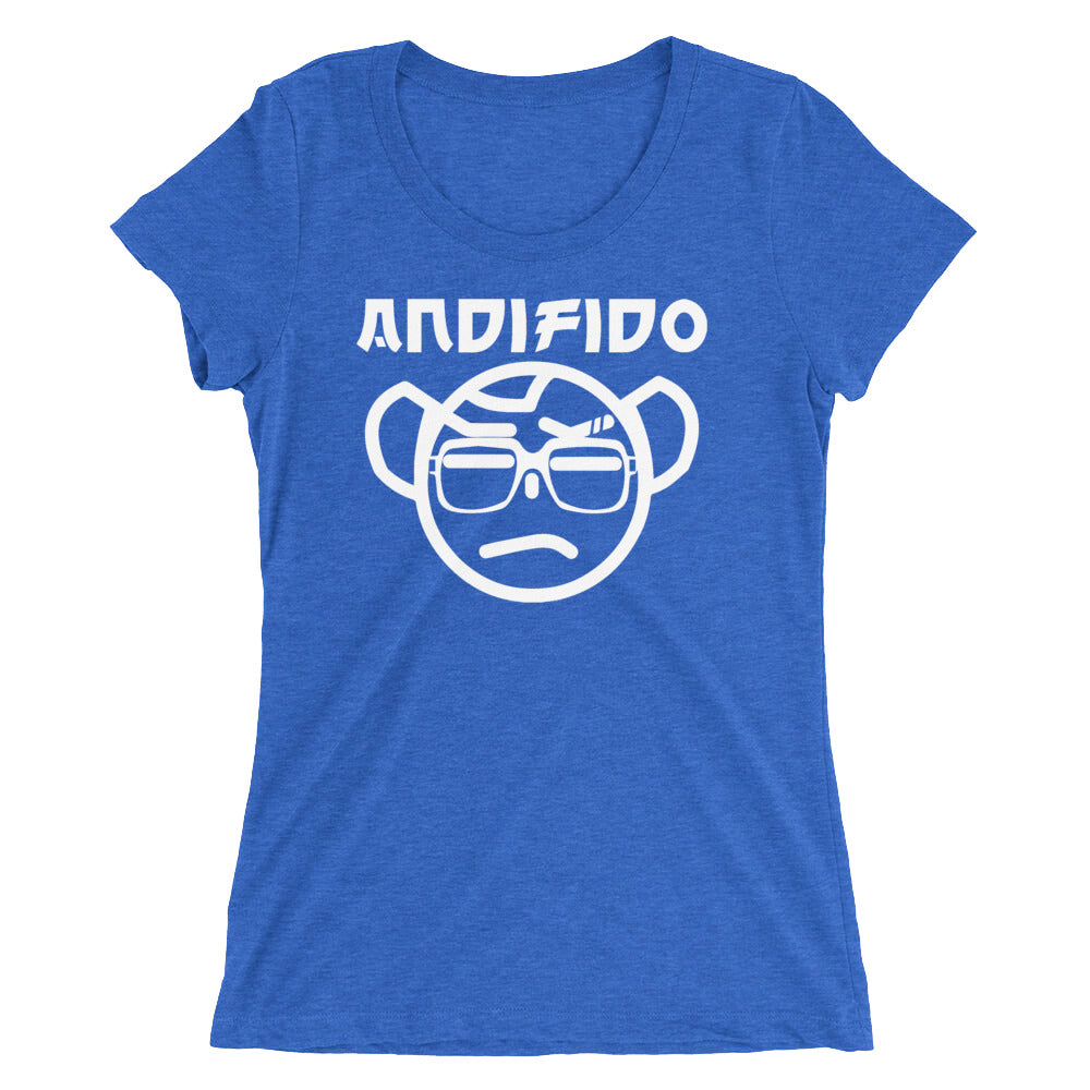 White Nerd Ladies' Tee - Andifido