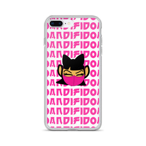 ANDIGIRL Pink Repeat Mask iPhone Case - Andifido
