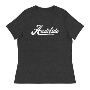 ANDIFIDO White Shaw Ladies Relaxed Tee - Andifido