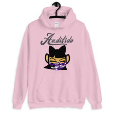 Load image into Gallery viewer, ANDIGIRL Gray/Purple Shaw Mask Hoodie - Andifido