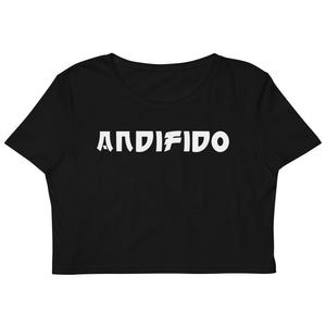 ANDIFIDO Black Organic Crop Top/Blk - Andifido