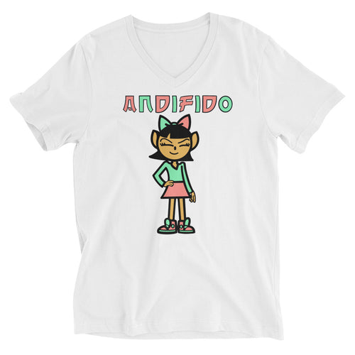 ANDIGIRL Watermelon V-Neck - Andifido