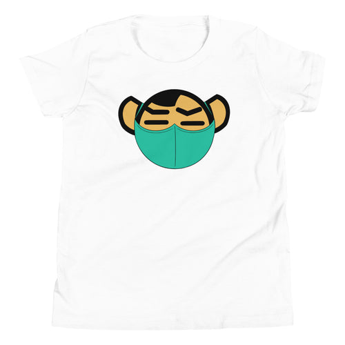 Youth Green Mask Tee - Andifido
