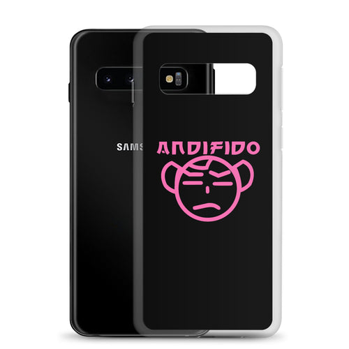 Pink/Black TM Samsung Case - Andifido