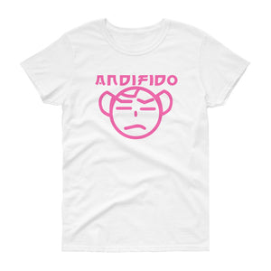 Women's Pink TM Tee - Andifido