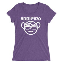 Load image into Gallery viewer, White Nerd Ladies' Tee - Andifido