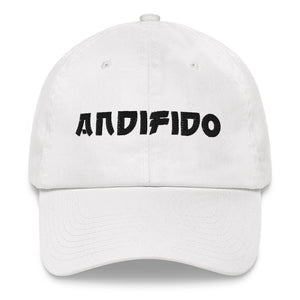 ANDIFIDO White Fitted Hat - Andifido