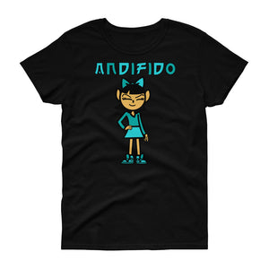 ANDIGIRL Green Women's Tee - Andifido