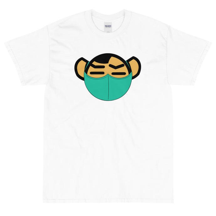 Men's Green Mask Tee - Andifido