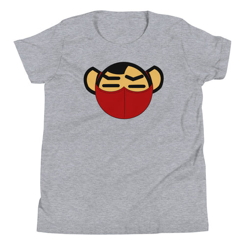 Youth Red Mask Tee - Andifido