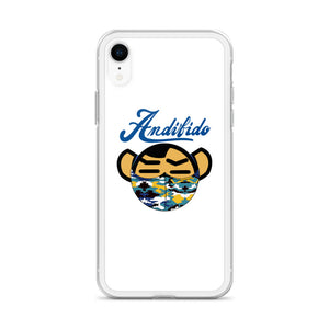 ANDIFIDO Blue Shaw Mask iPhone Case