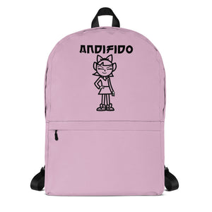 ANDIGIRL Light Pink Backpack - Andifido