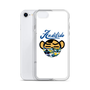ANDIFIDO Blue Shaw Mask iPhone Case - Andifido
