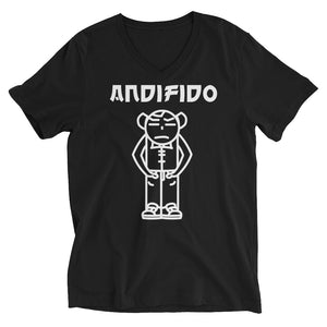 Classic White ANDIFIDO V-Neck - Andifido