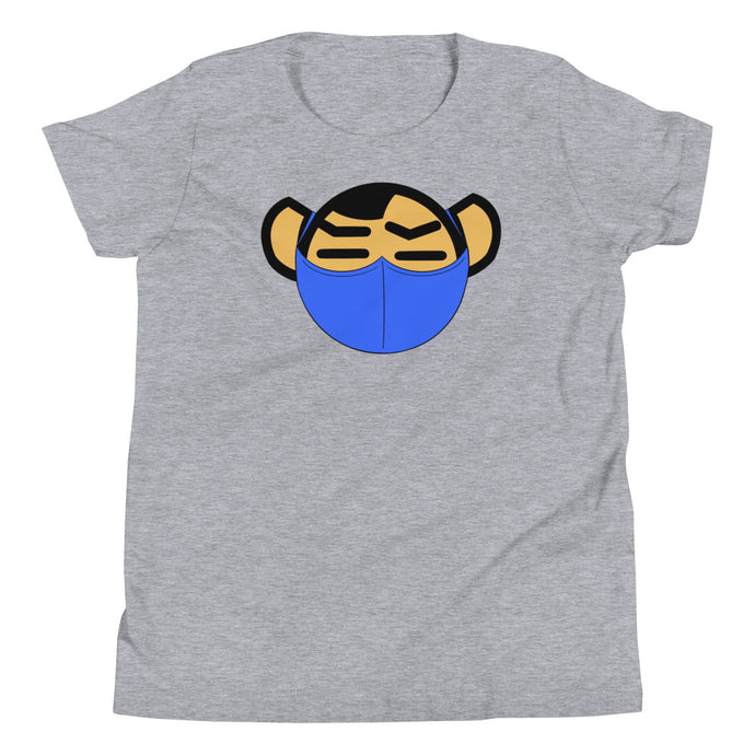 Youth Blue Mask Tee - Andifido