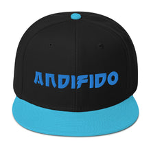 Load image into Gallery viewer, ANDIFIDO Teal & Black Snapback Hat - Andifido