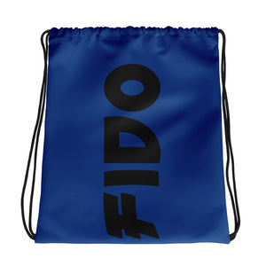 Blue ANDIFIDO Drawstring Bag - Andifido