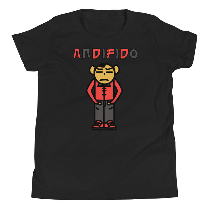ANDIFIDO Red & Blk Youth Tee - Andifido