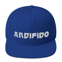 Load image into Gallery viewer, ANDIFIDO Blue Snapback Hat - Andifido