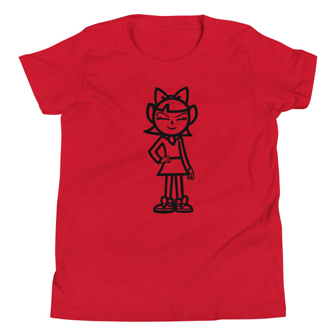 Youth ANDIGIRL Blk Tee - Andifido