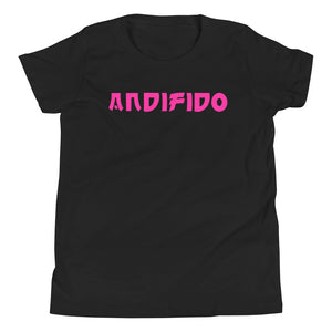 ANDIFIDO Pink Print Youth Tee - Andifido