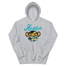 Load image into Gallery viewer, ANDIFIDO Teal Shaw Mask Hoodie - Andifido