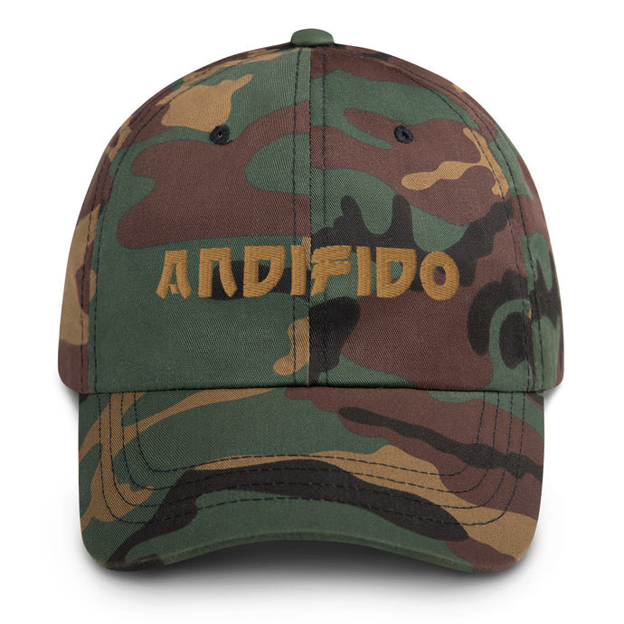 ANDIFIDO Camo Fitted Hat - Andifido