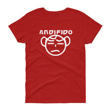 Load image into Gallery viewer, Women's White TM Tee - Andifido