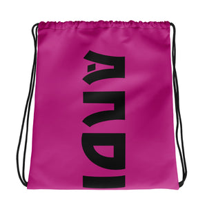 Pink ANDIFIDO Drawstring Bag - Andifido