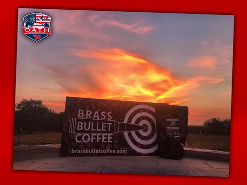 A beautiful morning with OATH, Inc and Brass Bullet Coffee
