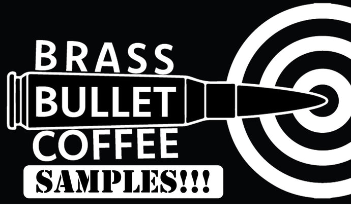Specialty Coffee Samples | Brass Bullet Coffee