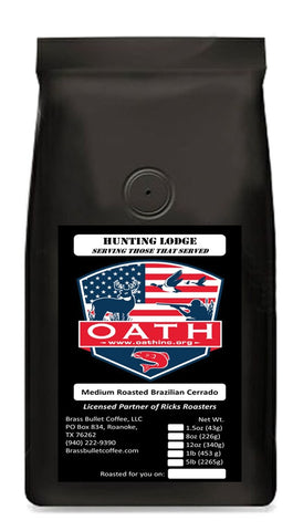 OATH, Inc. Hunter's Lodge Roast | Charity Fundraiser | Brass Bullet Coffee