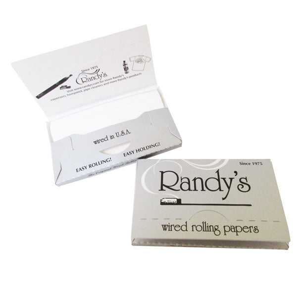 Randys Wired Rolling Papers - Inhale NZ - NZ's highest quality water pipes, smoking pipes, vape pens, e-liquids, herb vapes, grinders & more! We have the best prices in NZ! bongs nz, water pipes nz, bong nz, glass bongs nz, nz bongs, water pipe, water pipe nz, water bongs nz, bongs online nz