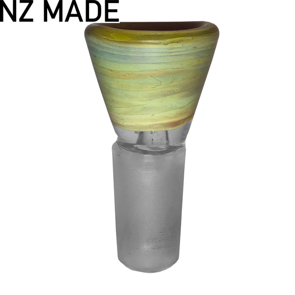 Hand Made Reptile Cone Piece - 14mm - Inhale NZ - NZ's highest quality water pipes, smoking pipes, vape pens, e-liquids, herb vapes, grinders & more! We have the best prices in NZ! bongs nz, water pipes nz, bong nz, glass bongs nz, nz bongs, water pipe, water pipe nz, water bongs nz, bongs online nz