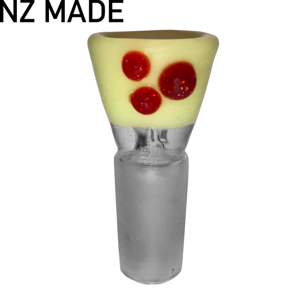 Hand Made Tasty Cone Piece - 14mm - Inhale NZ - NZ's highest quality water pipes, smoking pipes, vape pens, e-liquids, herb vapes, grinders & more! We have the best prices in NZ! bongs nz, water pipes nz, bong nz, glass bongs nz, nz bongs, water pipe, water pipe nz, water bongs nz, bongs online nz