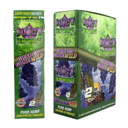 Juicy Hemp Wrap - Grapes Gone Wild - Inhale NZ - NZ's highest quality water pipes, smoking pipes, vape pens, e-liquids, herb vapes, grinders & more! We have the best prices in NZ! bongs nz, water pipes nz, bong nz, glass bongs nz, nz bongs, water pipe, water pipe nz, water bongs nz, bongs online nz