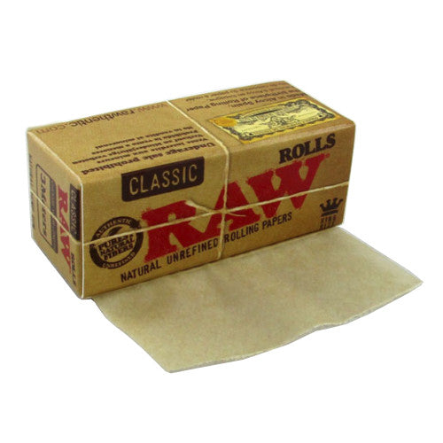 RAW Classic Paper Roll - 3m - Inhale NZ - NZ's highest quality water pipes, smoking pipes, vape pens, e-liquids, herb vapes, grinders & more! We have the best prices in NZ! bongs nz, water pipes nz, bong nz, glass bongs nz, nz bongs, water pipe, water pipe nz, water bongs nz, bongs online nz