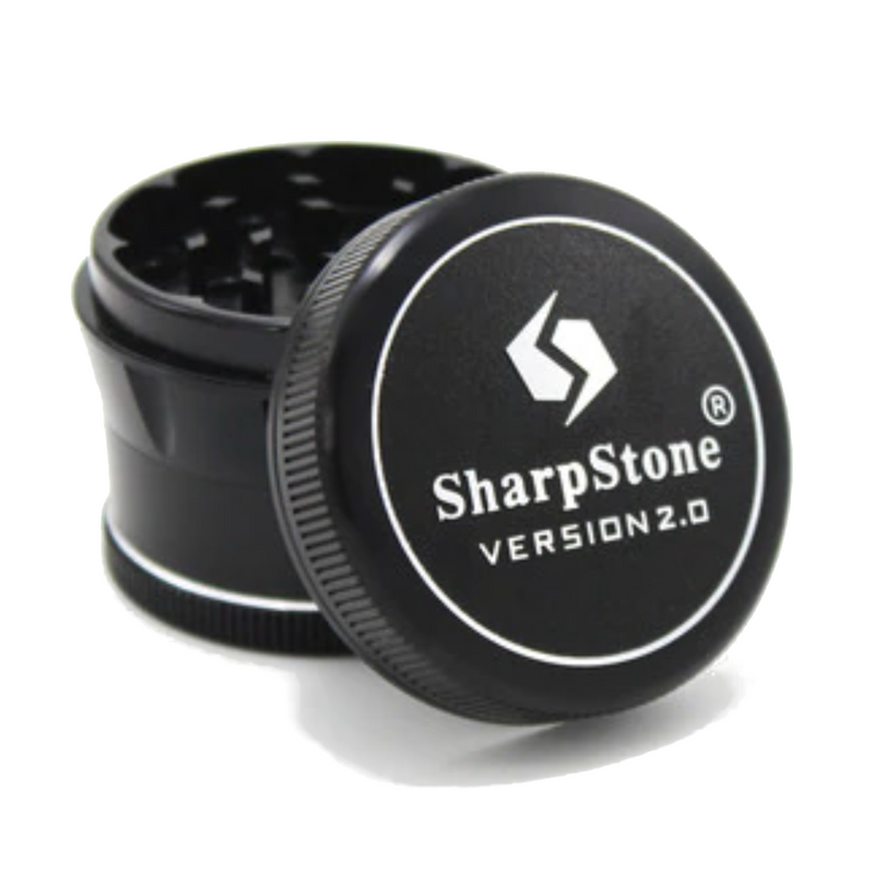 Sharpstone v2.0 Grinder - 55mm - Inhale NZ - NZ's highest quality water pipes, smoking pipes, vape pens, e-liquids, herb vapes, grinders & more! We have the best prices in NZ! bongs nz, water pipes nz, bong nz, glass bongs nz, nz bongs, water pipe, water pipe nz, water bongs nz, bongs online nz