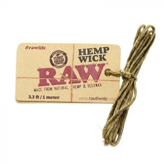 RAW Hemp Wick - Inhale NZ - NZ's highest quality water pipes, smoking pipes, vape pens, e-liquids, herb vapes, grinders & more! We have the best prices in NZ! bongs nz, water pipes nz, bong nz, glass bongs nz, nz bongs, water pipe, water pipe nz, water bongs nz, bongs online nz
