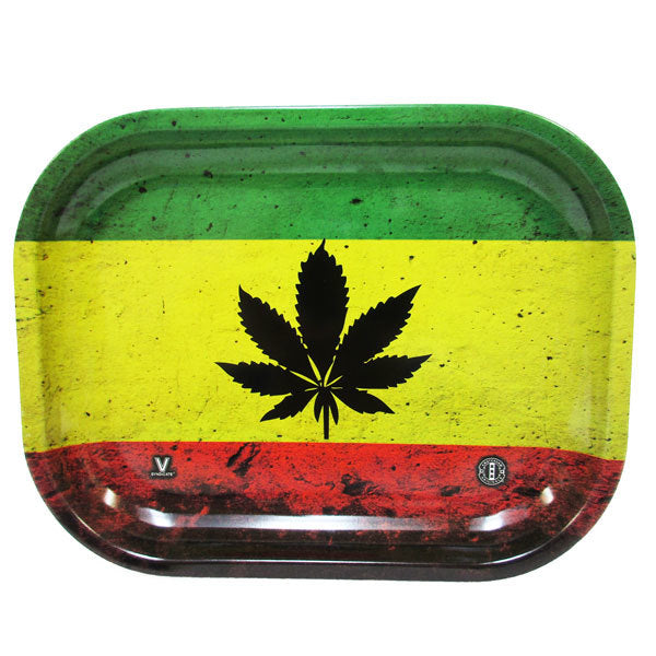 Rasta Metal Rolling Tray - Inhale NZ - NZ's highest quality water pipes, smoking pipes, vape pens, e-liquids, herb vapes, grinders & more! We have the best prices in NZ! bongs nz, water pipes nz, bong nz, glass bongs nz, nz bongs, water pipe, water pipe nz, water bongs nz, bongs online nz
