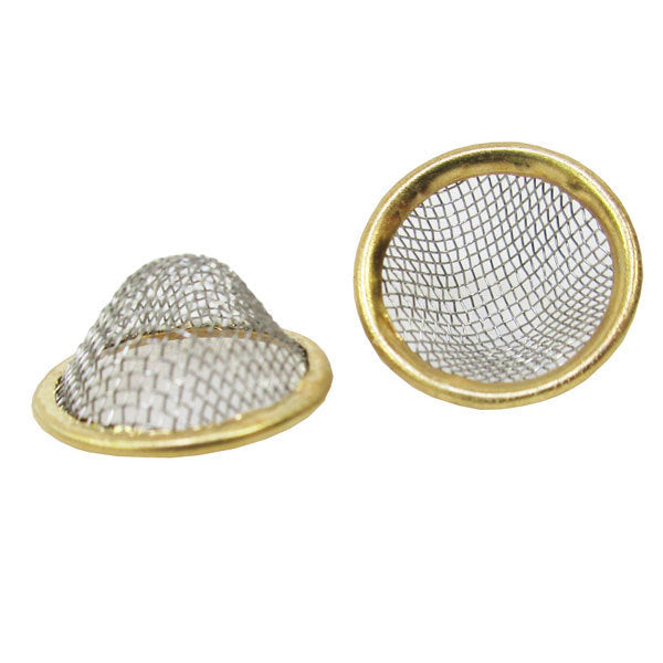Curved Mesh Stainless Brass (pack of 3) - Inhale NZ - NZ's highest quality water pipes, smoking pipes, vape pens, e-liquids, herb vapes, grinders & more! We have the best prices in NZ! bongs nz, water pipes nz, bong nz, glass bongs nz, nz bongs, water pipe, water pipe nz, water bongs nz, bongs online nz