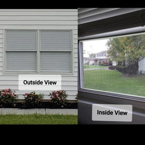 way Vision Horizontal Blinds - cabindusk