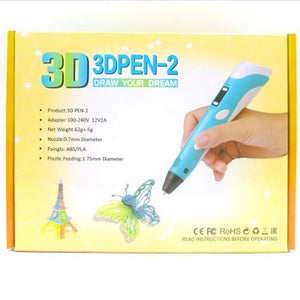 3D PEN THE BEST 3D PRINTING PEN WITH 10+METERS FILAMENT - cabindusk
