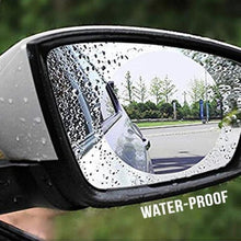 Load image into Gallery viewer, 3 Pairs Rainproof, AntiFog Rearview Mirror Film - cabindusk