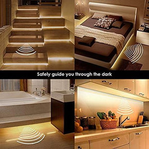 Motion Sensor Bed Closet LED String Light - cabindusk