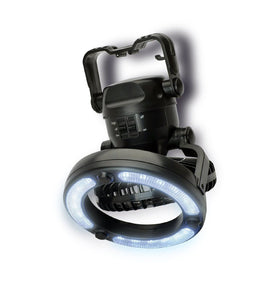 Portable Led Camping Lantern with Fan 💡 - cabindusk