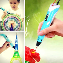 Load image into Gallery viewer, 3D PEN THE BEST 3D PRINTING PEN WITH 10+METERS FILAMENT - cabindusk