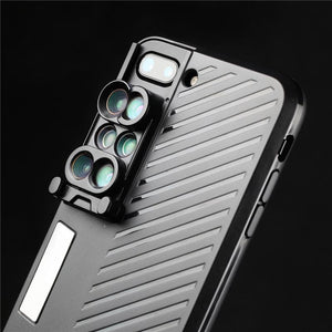 6 IN 1 CAMERA LENS PHONE CASE - FOR IPHONE CASE - cabindusk