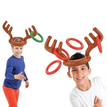 Load image into Gallery viewer, Christmas Reindeer Antlers Ring Toss Game - cabindusk