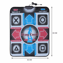 Load image into Gallery viewer, USB Non-Slip Dancing Step Dance Mat Pad Blanket for PC Laptop Video Game - cabindusk